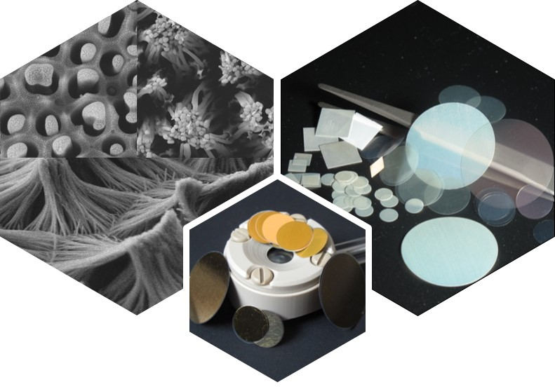 Materials and accessories for templated nanofabrication