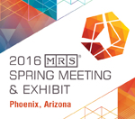MRS spring 2016 meeting
