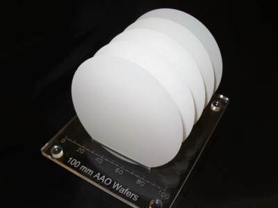 Free-standing AAO wafers, OD 100 mm x H 150 µm