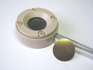 Electrochemcial PEEK Holder for 25 mm samples