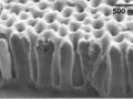 NiO ALD film in nanoporous AAO